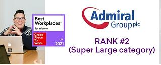 Admiral-Group-uk-best-workplaces-for-women-2021