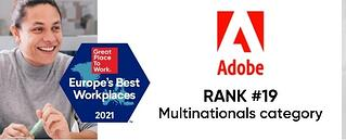 Adobe-2021-Europes-Best-Workplaces-Rank