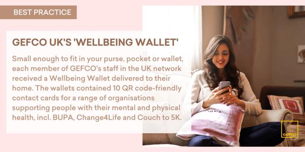 GEFCO UKs Wellbeing Wallets