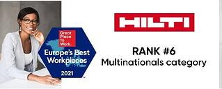 Hilti-2021-Europes-Best-Workplaces-Rank