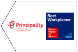Principality-Building-Society-best-workplaces-2021-flag