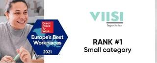 Viisi-2021-Europes-Best-Workplaces-Rank