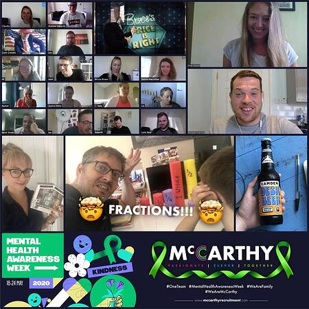 mccarthy recruitment mental health awareness week 2020 (from LI)
