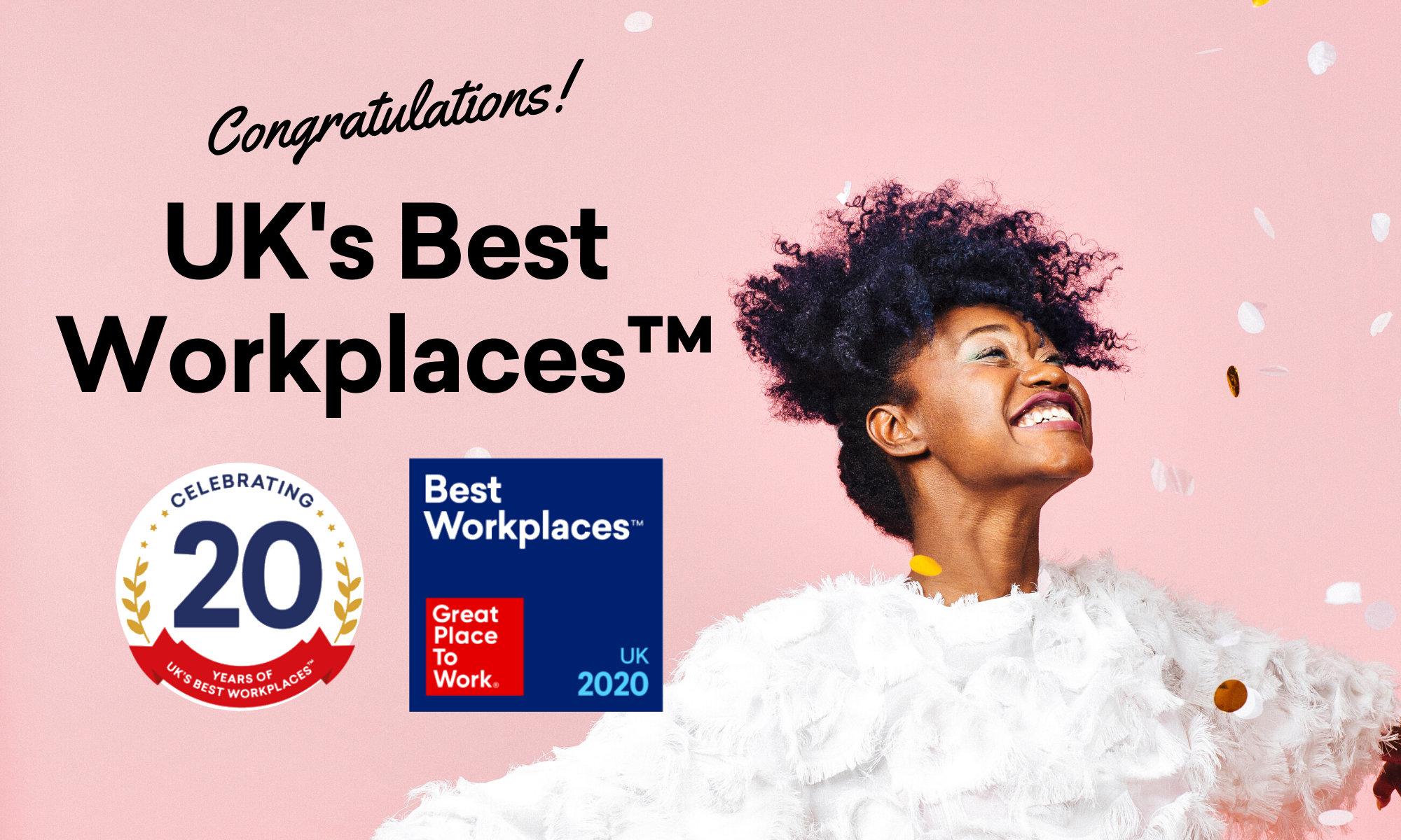 Announced: UK's Best Workplaces 2020